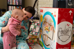 checking out my present picture
