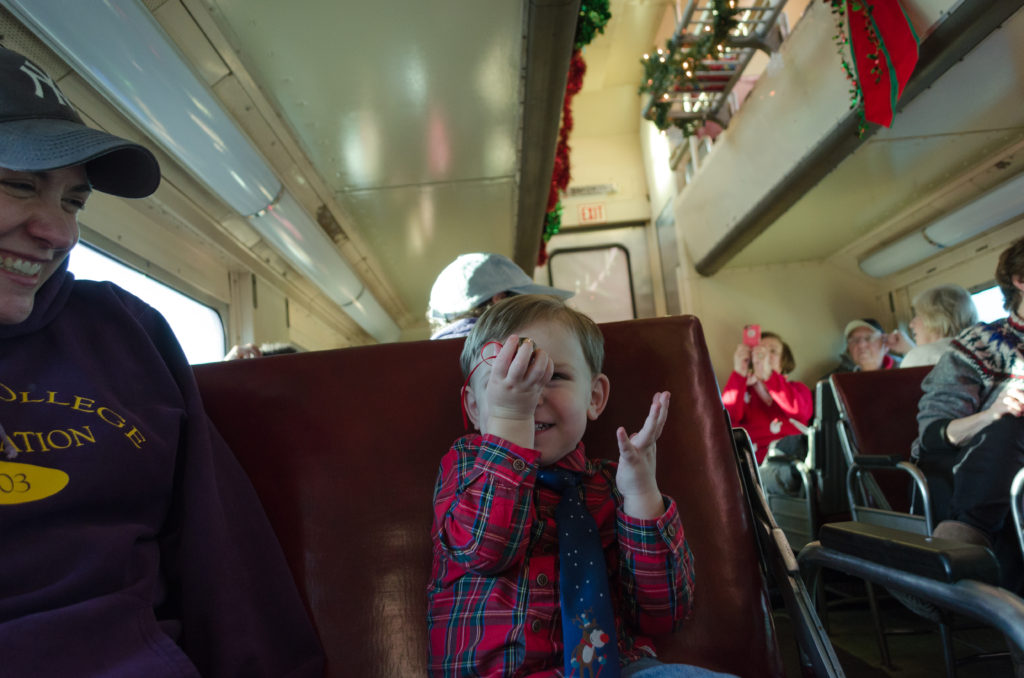 Train Ride With Santa 13